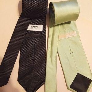 ARMANI Collezioni & MICHAEL KORS - Set 2 Silk Ties